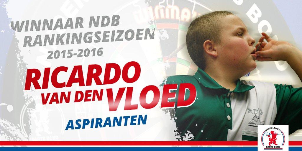 Ricardo van den Vloed - Winnaar NDB Ranking 2015-2016